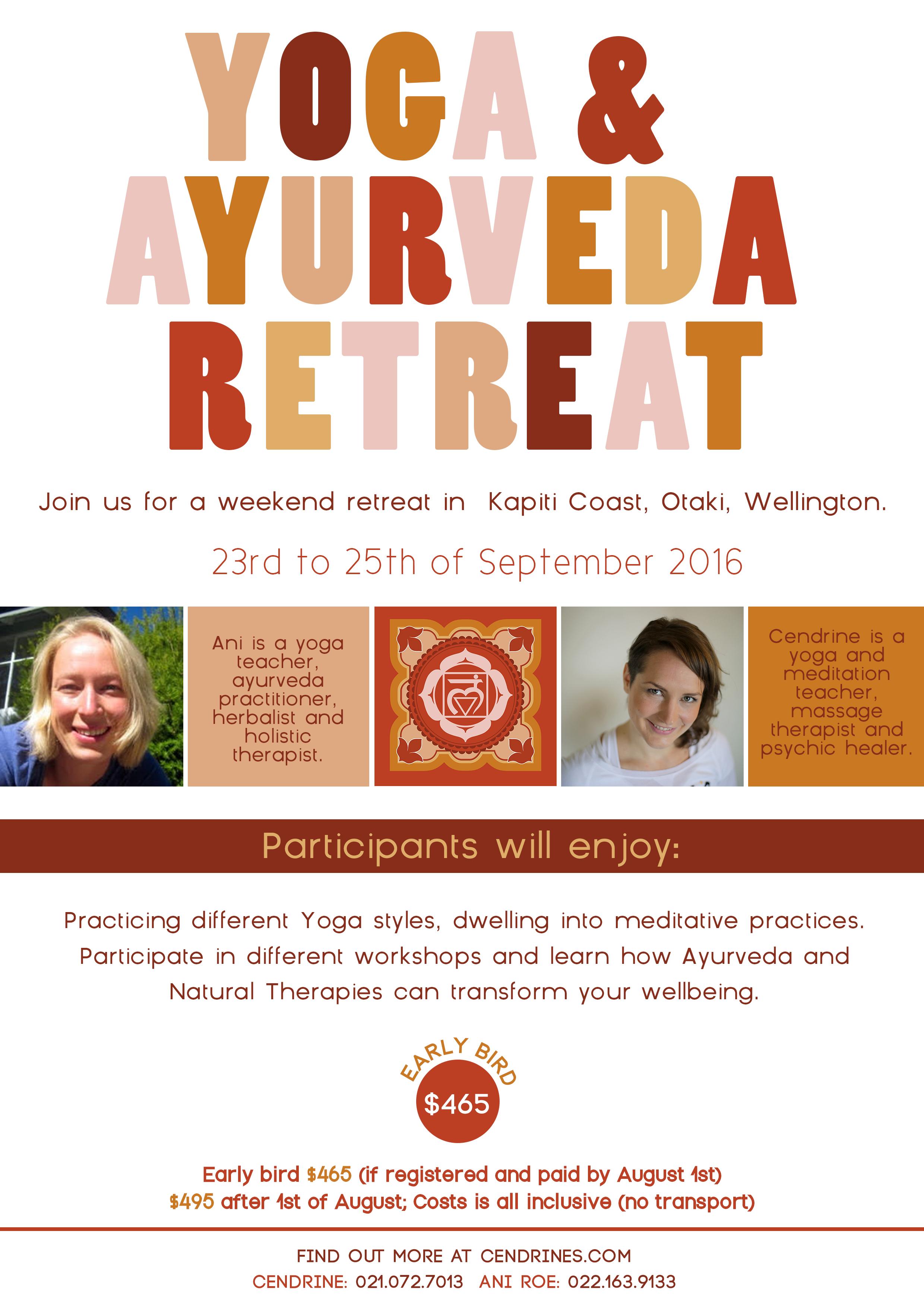 Yoga and Ayurveda retreat